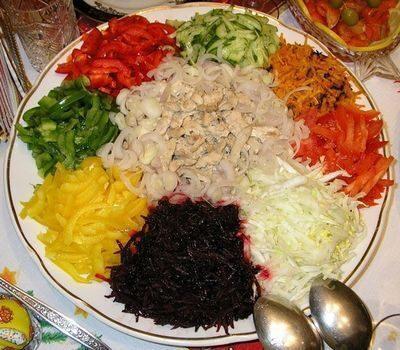 """Салат диетический """"Витаминный"""""""