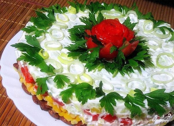 Салат с тунцом консервированным рецепт с пошаговым фото