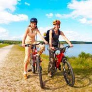 Сколько калорий сжигается при езде на велосипеде?