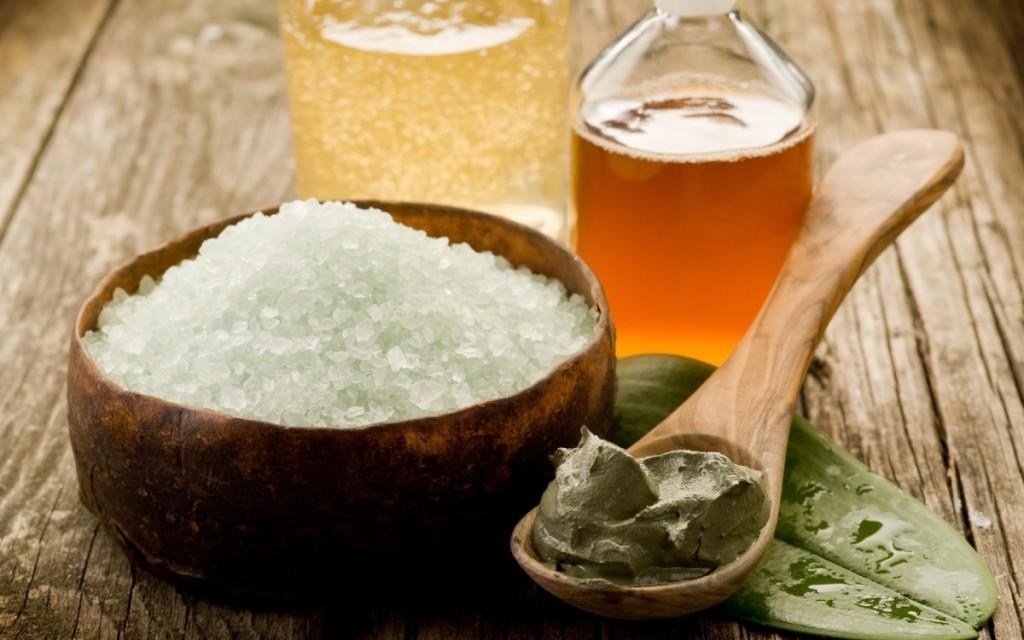 массажи с солью