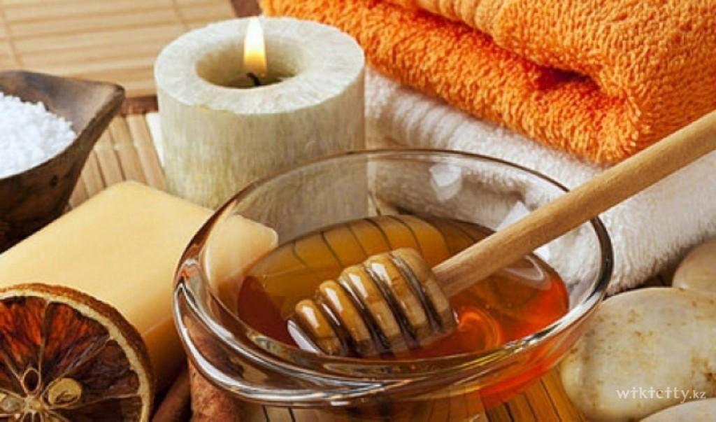 массажи с медом