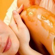 Как сделать массаж медом