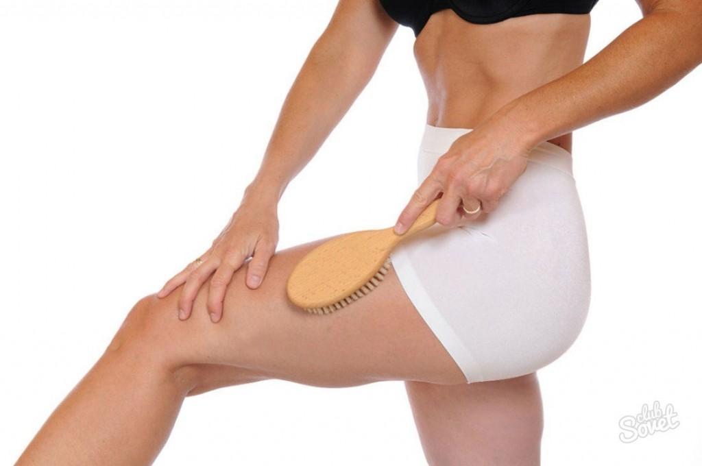 Как делать сухой массаж щеткой