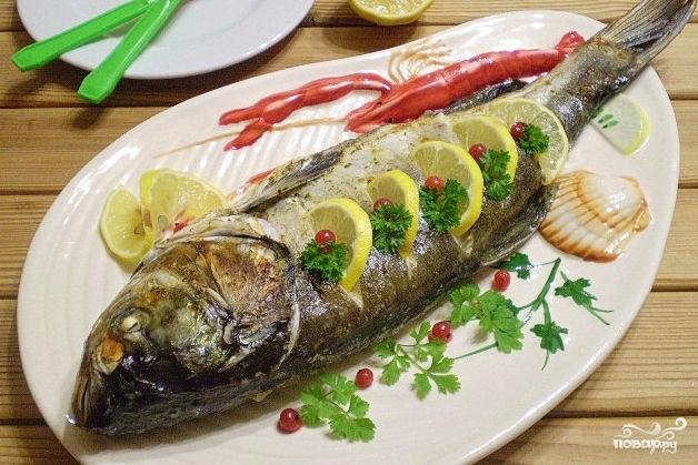 рецепт рыбы в сметане в духовке