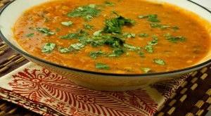Суп диетический из чечевицы