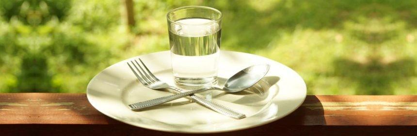 Правильное голодание на воде для похудения
