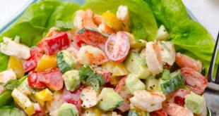Диетический салат для похудения: рецепты с фото