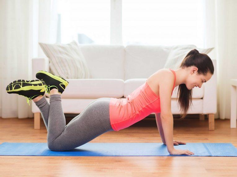 Курс фитнеса в домашних условиях видео