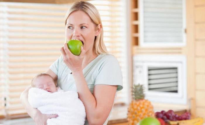 Диета для похудения кормящей маме по дням