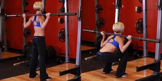 Комплекс упражнений в тренажерном зале для девушек для похудения