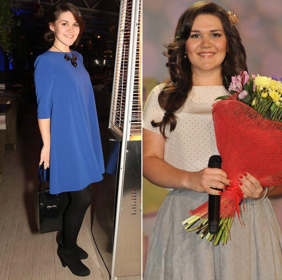 Как похудела Дина Гарипова: фото до и после