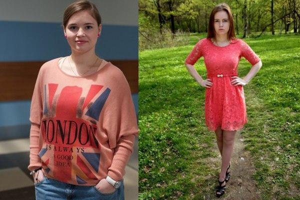 Как похудела Полина Гренц (Саша Мамаева) фото до и после