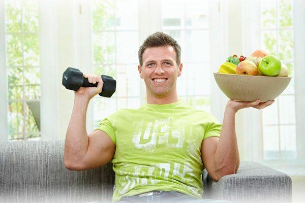 Тренировка для похудения мужчин в домашних условиях