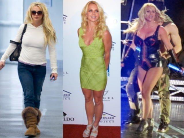 Как похудела Бритни Спирс