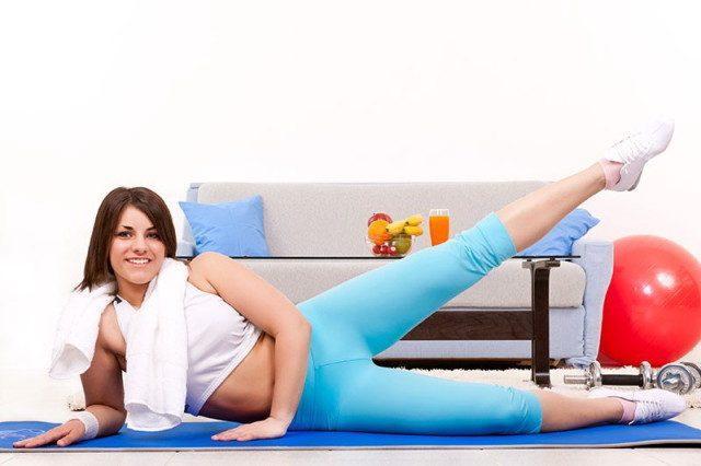 Фитнес для похудения в домашних условиях видео курс 30 дней