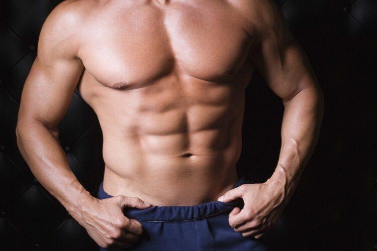 Как подсушить тело мужчине