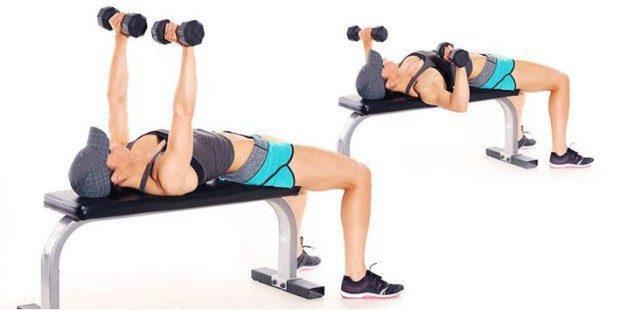 Упражнения для грудных мышц для девушек в домашних условиях