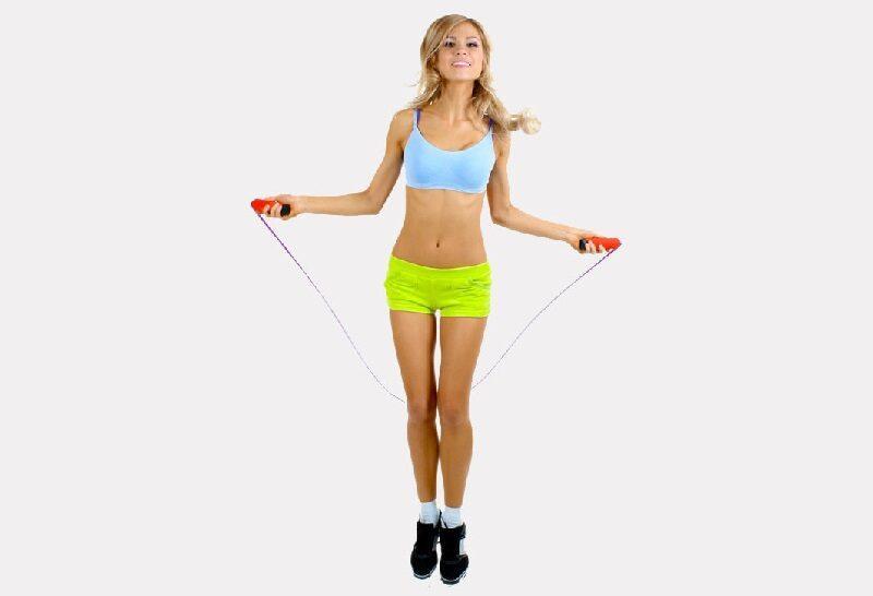 Сколько калорий сжигается при прыжках на скакалке?