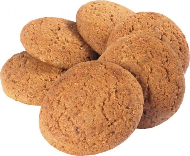 Сколько калорий в овсяном печенье?