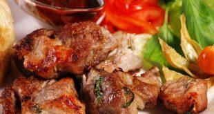 Cколько калорий в шашлыке из свинины?