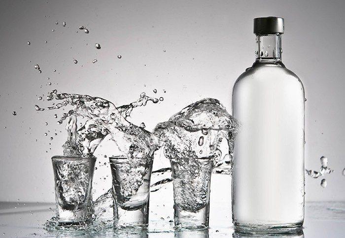 Cколько калорий в водке 100 грамм?