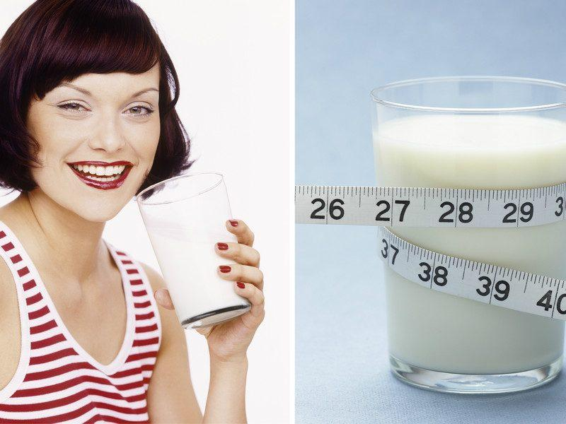 Молочная диета для похудения на 7 дней