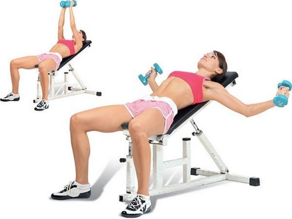 Упражнения для грудных мышц для женщин в домашних условиях