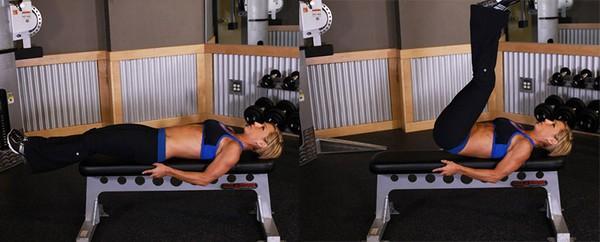 Упражнения на нижний пресс для девушек в домашних условиях