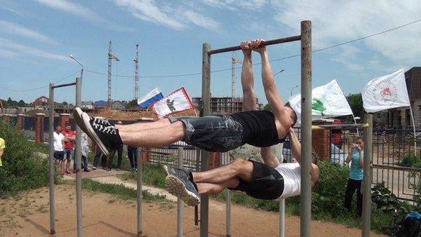 Упражнения для подтягивания на турнике