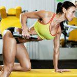 Упражнения на спину в тренажерном зале для девушек