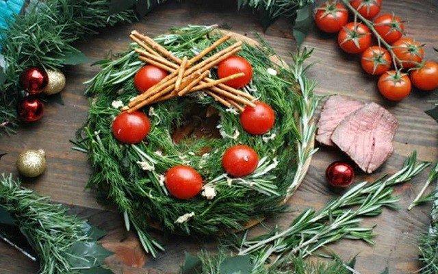 Новогодние диетические салаты 2019