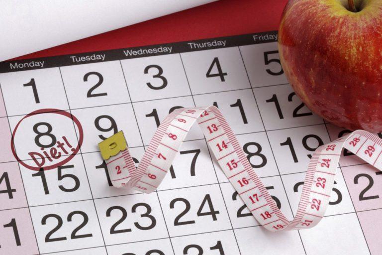 Как похудеть к 8 марта?