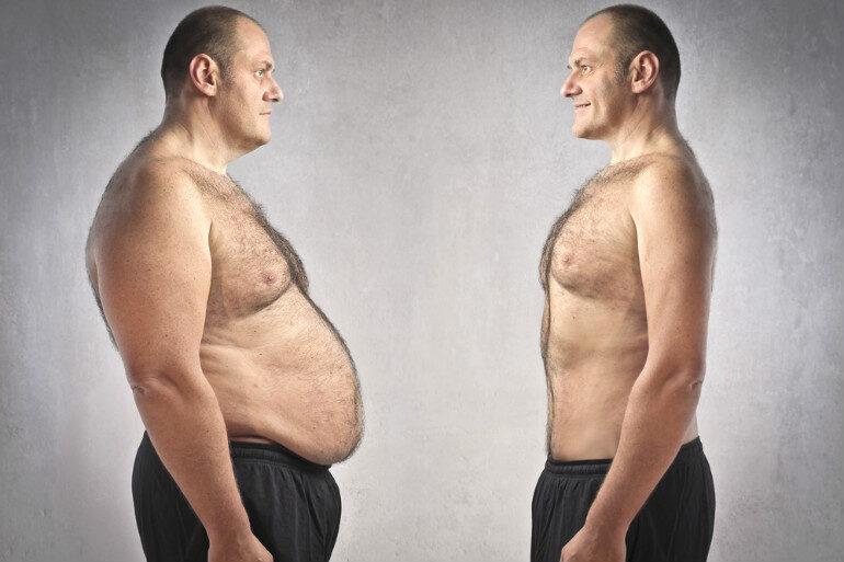 Как сбросить лишний вес мужчине в домашних условиях