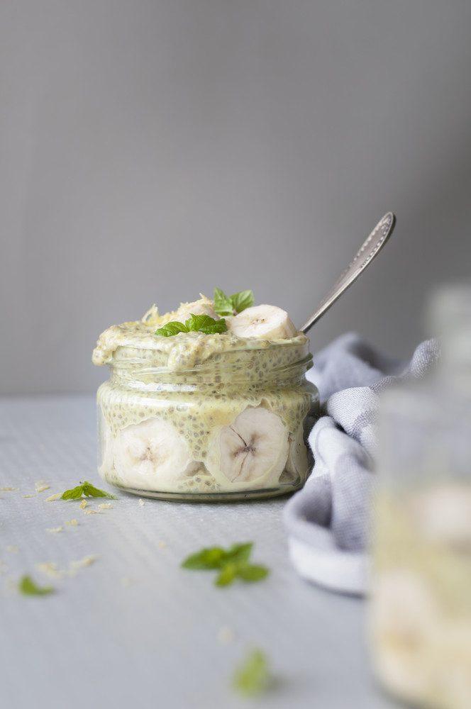Чиа пудинг: рецепт на кокосовом молоке