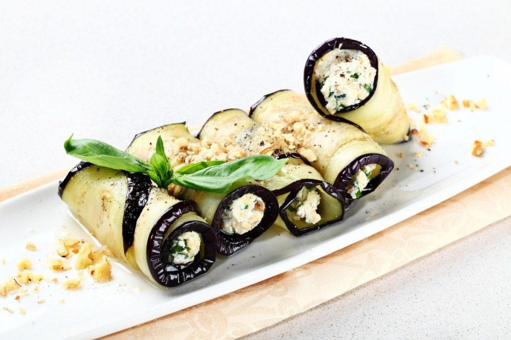 Диетические блюда из баклажанов для похудения