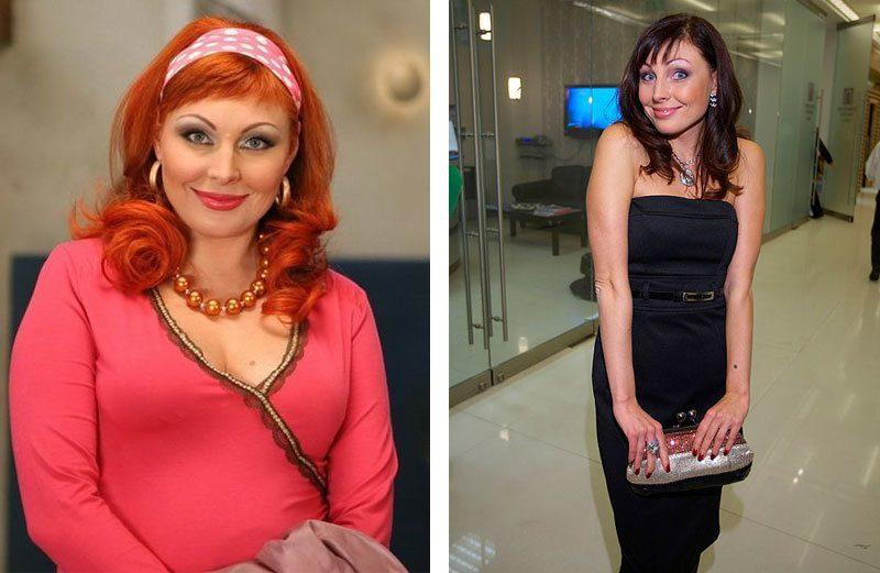 Как похудела Бочкарева Наталья