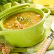 Сколько калорий в гороховом супе