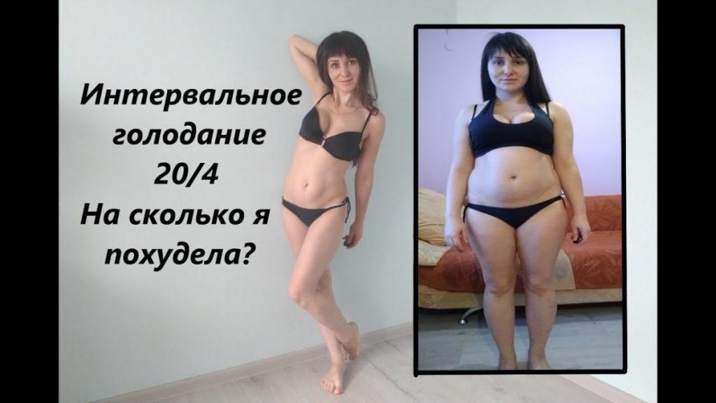 Интервальное голодание 20/4 для женщин отзывы