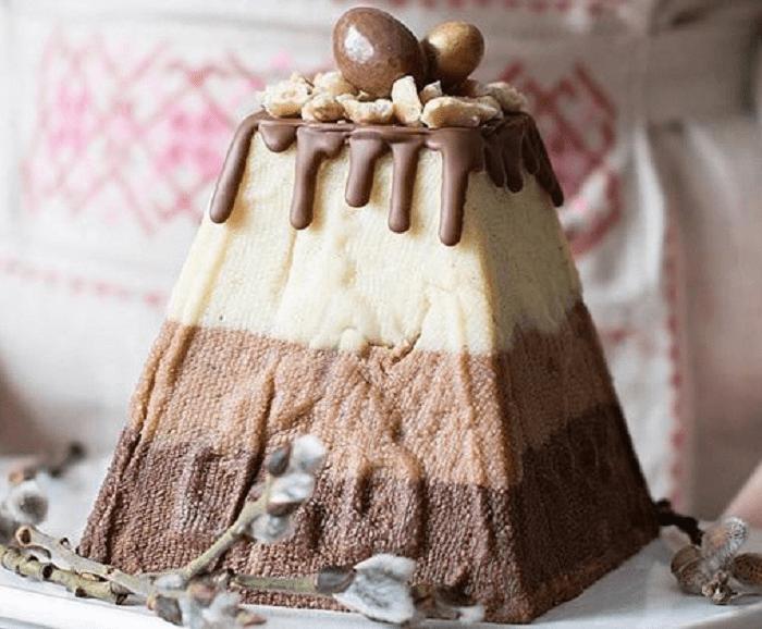 Диетическая пасха с творога рецепт с фото пошагово